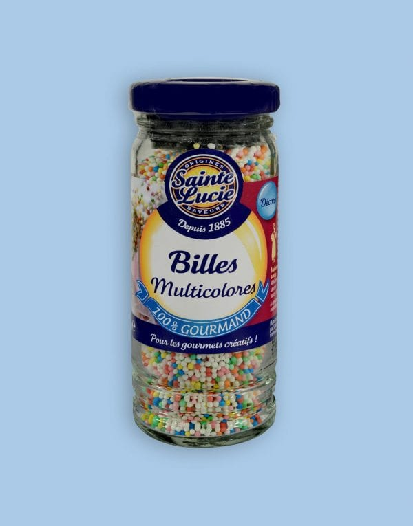 Billes multicolores