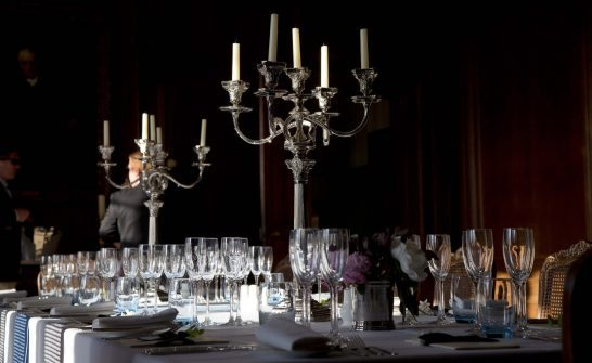 Pairing dinner at Cowdray House with St Regis Hotels